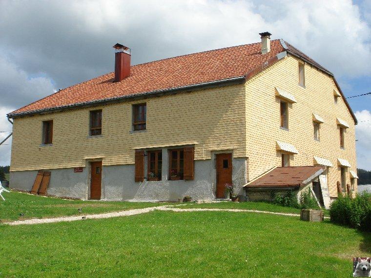Les Tavaillons dans le Ht-Jura - Les Bouchoux - La Pesse (39 T0041