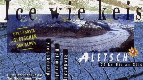 Dans le Valais - le plus grand glacier alpin - Aletsch 0001