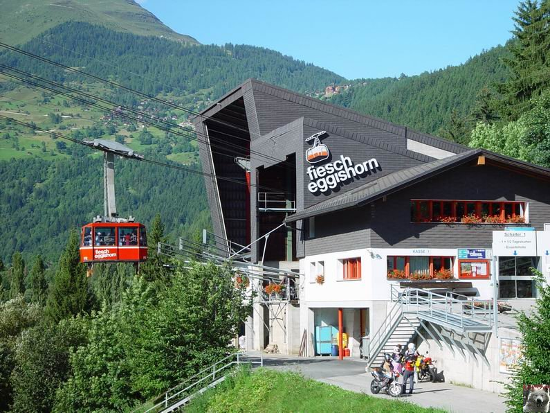 Dans le Valais - le plus grand glacier alpin - Aletsch 0003