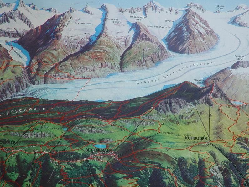 Dans le Valais - le plus grand glacier alpin - Aletsch 0004
