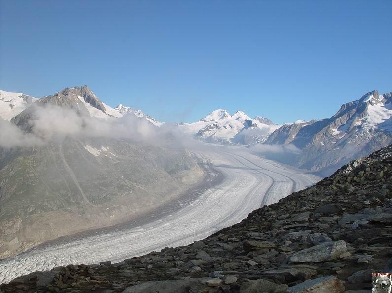 Dans le Valais - le plus grand glacier alpin - Aletsch 0016