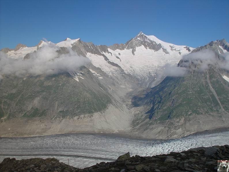 Dans le Valais - le plus grand glacier alpin - Aletsch 0021