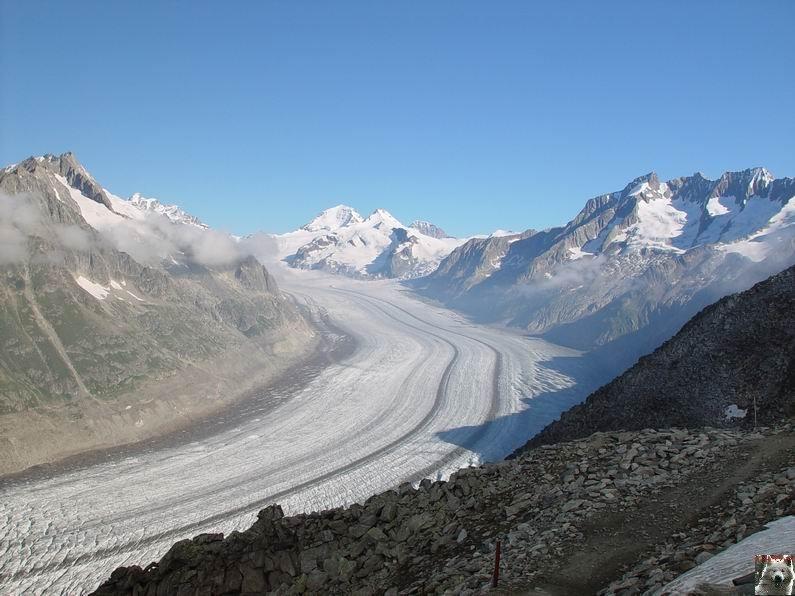 Dans le Valais - le plus grand glacier alpin - Aletsch 0023