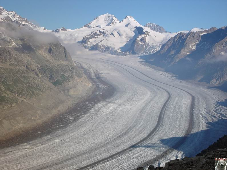 Dans le Valais - le plus grand glacier alpin - Aletsch 0024