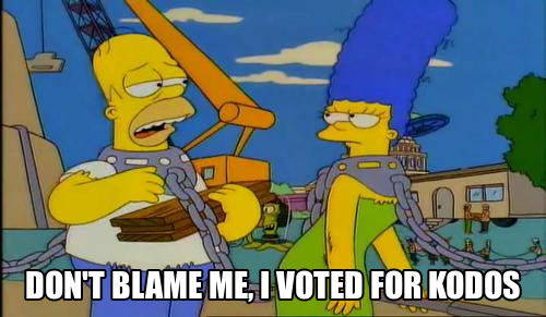 The Golden Joysticks! Democracy at its finest! Voted-for-kodos
