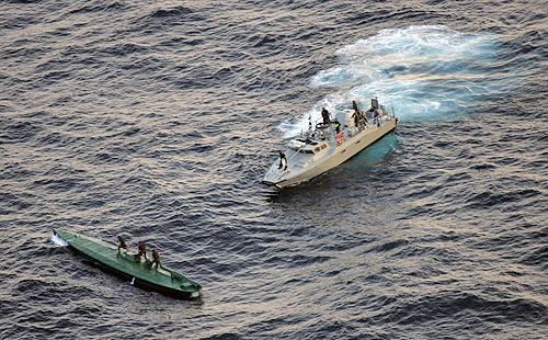 narcotraficantes Devastar pueblos indígena Drug-submarine