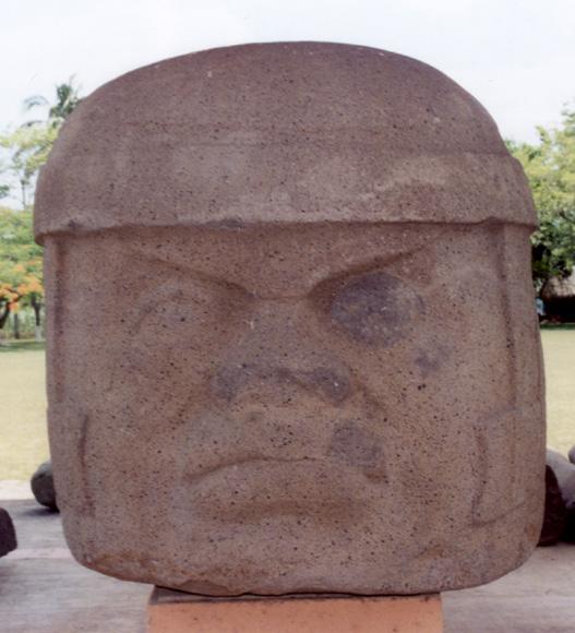 Les Olmèques. L'Enigme Olmèque Tres-zapotes-a