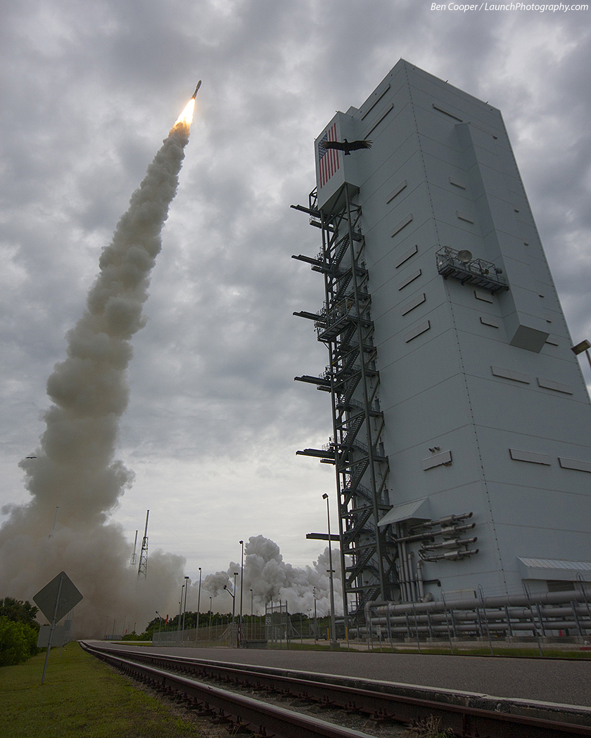 Atlas V 551 (MUOS-2) - 19.7.2013 MUOS-2