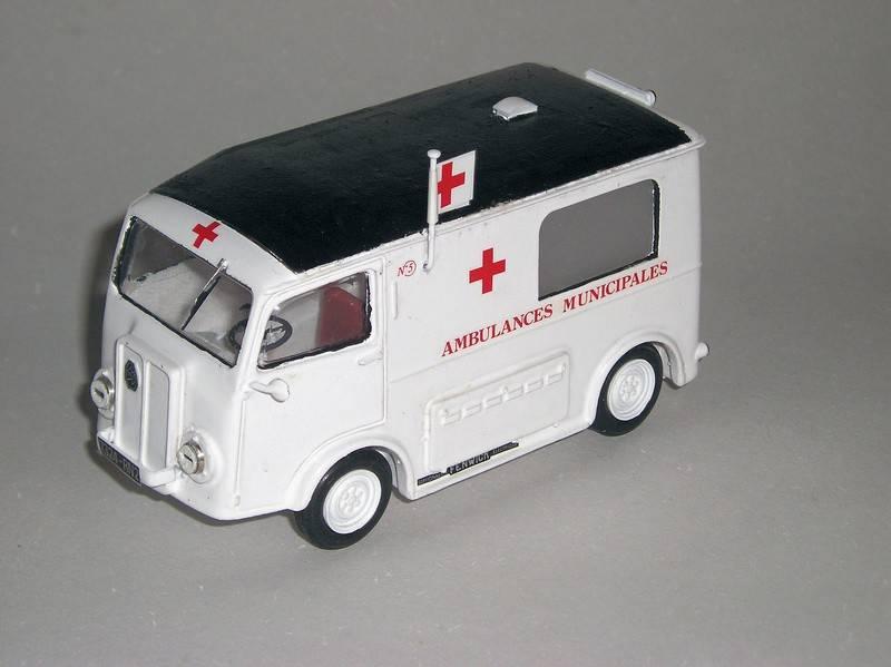 """Citroën miniatures > """"Ambulances, transports de blessés et assistance d'urgence aux victimes"""" Urbel"""