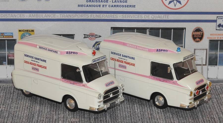 """Citroën miniatures > """"Ambulances, transports de blessés et assistance d'urgence aux victimes"""" Aspro_40-60_D"""