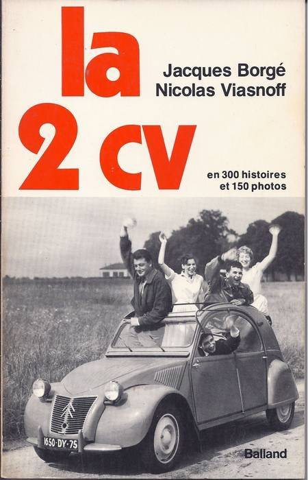 Livres sur les 2CV  L2CV01a