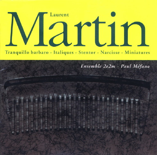 Sorties CD en musique du XXIè siècle - Page 3 Cd