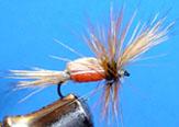 Compendio de 30 Montajes de Diversas Moscas por www.lavaguada.cl Humpy-dryfly11
