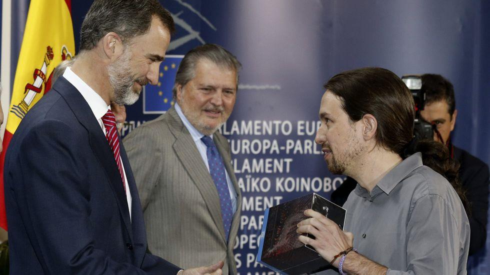 Podemos,  UP,  Convergencias...  Pablo Iglesias: «Echo en falta cierto patriotismo en la política española» - Página 7 Efe_20150415_095226692