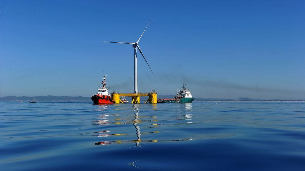 Energía. Las fuentes renovables.Ya superan al carbón. J05F7029