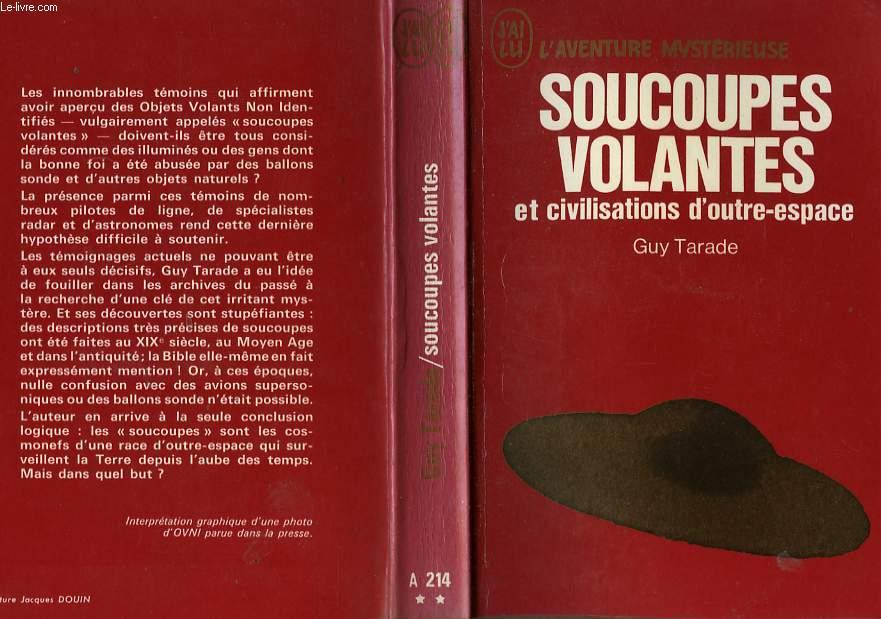 """Liste de l'ancienne collection """"j'ai Lu - L'Aventure Mystèrieuse"""" sur les ovnis et ET RO90071525"""