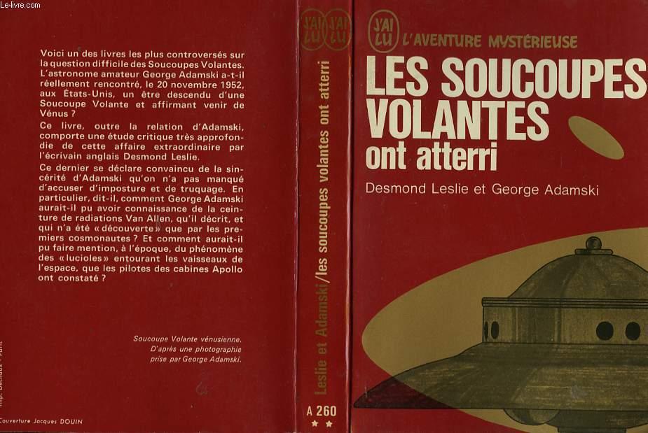 """Liste de l'ancienne collection """"j'ai Lu - L'Aventure Mystèrieuse"""" sur les ovnis et ET RO90071579"""