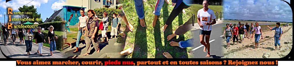 Le Rendez vous International des Barefooteurs-Pieds nus par plaisir