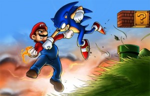 Mario Bros. vs Sonic Mariovssonic01_11-300x193