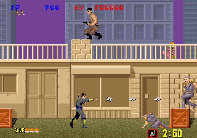 ces jeux d'arcades qu'on aurait aimé voir sur console TOMAGIQUEshinobiarcade