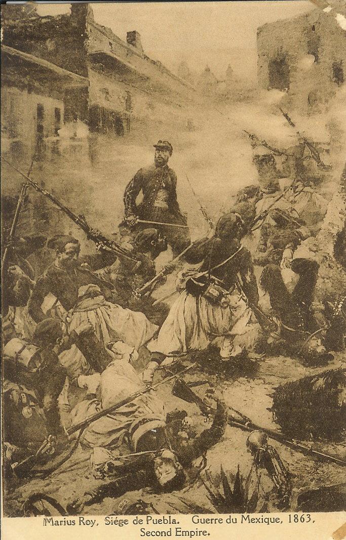 حروب فرنسية ودماء جزائرية Guerredumexique1863