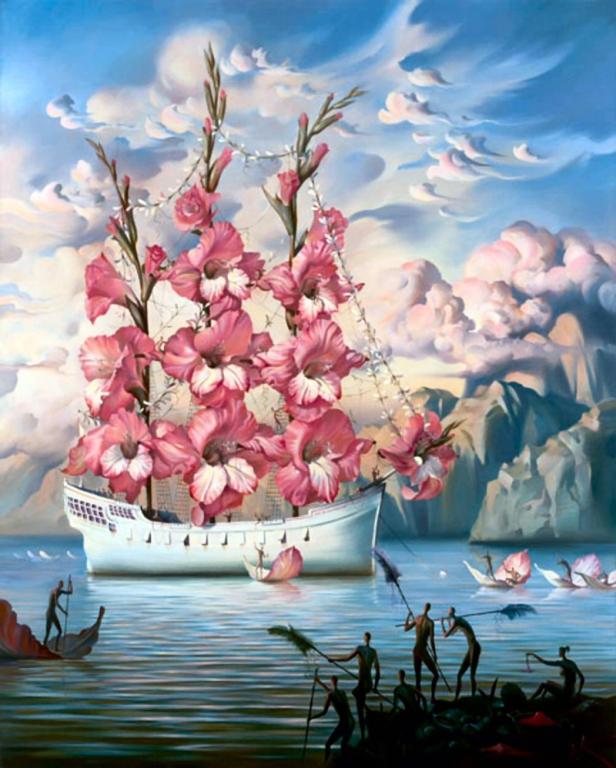 Incredible Surreal Paintings by Vladimir Kush Incredible-Surreal-Paintings-by-Vladimir-Kush2