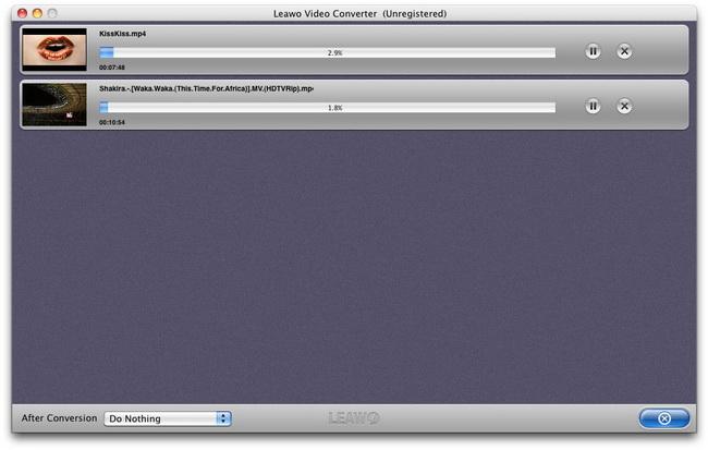 La façon de convertir des MKV vidéos à ipad avec Leawo Video Converter Video_converter_mac_13