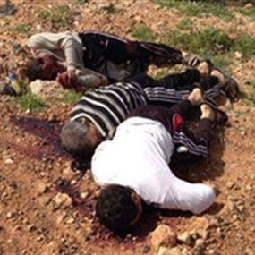 وقائع استشهاد الـ 7 أقباط فى ليبيا  23/2/2014 NKFCQGCCTM