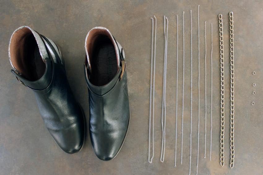 إجعلي من حذائك القديم حذاءا عصريا راقيا... DIY-chaussures-cuire-Artlex-blog