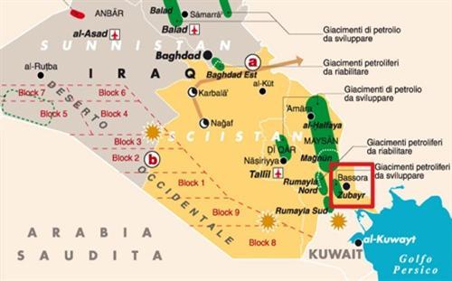 Irak : découverte d'un important gisement de pétrole, de quoi faire grincer ses partenaires de l'Opep Iraq-oil_meysan