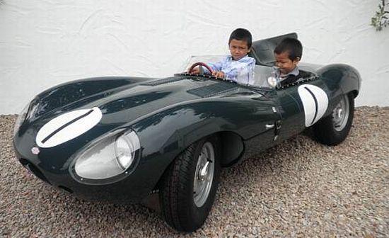 Réve d'enfant D-type-jaguar-childrens-car