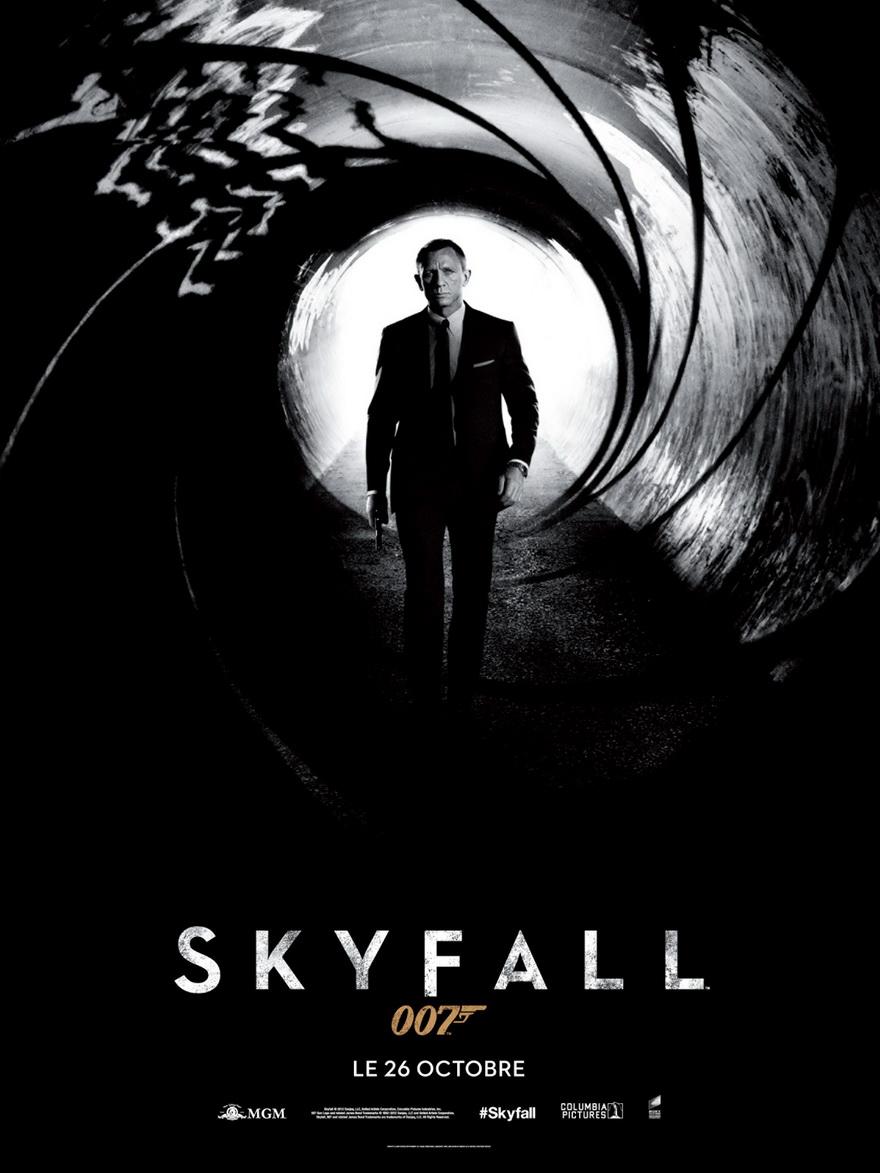 Les plus belles affiches de cinéma - Page 6 Skyfall-affiche-teaser