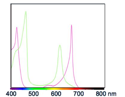 Les LED Chlorophylle