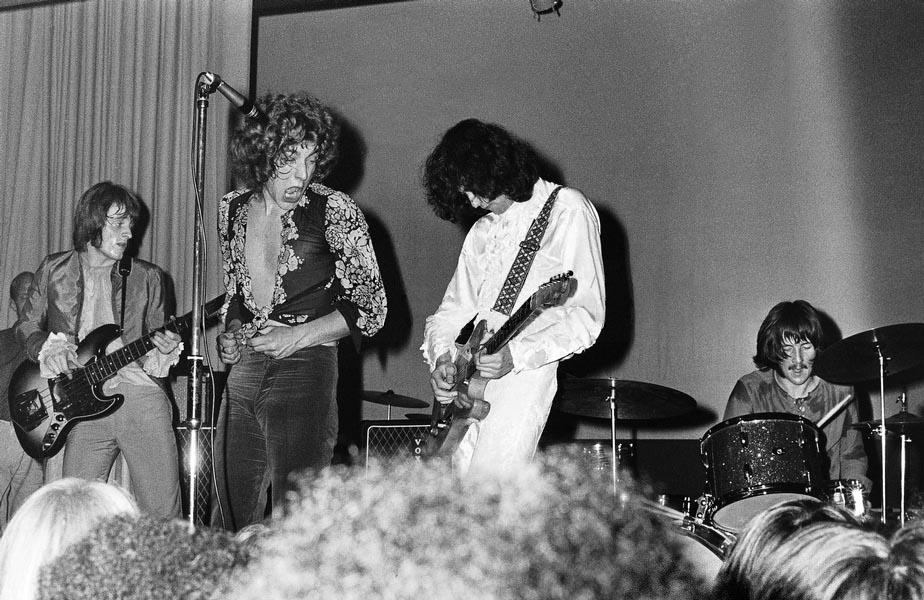 Pictures at eleven - Led Zeppelin en photos 1