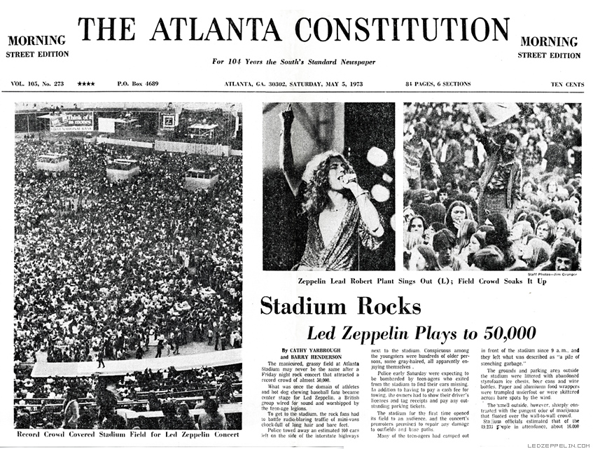 Come taste the band vs House of the holy Atlanta73article