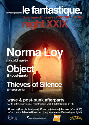 26/06: Norma Loy, Object, Thieves of Silence Night29-300