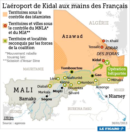 L'intervention militaire française au Mali vise-t-elle à assurer les intérêts d'Areva ? - Page 2 201305_mali_kidal