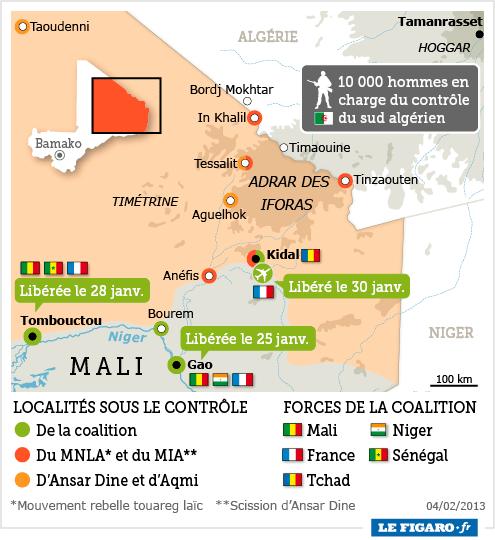 L'intervention militaire française au Mali vise-t-elle à assurer les intérêts d'Areva ? - Page 2 201306_mali_kidal_iforas