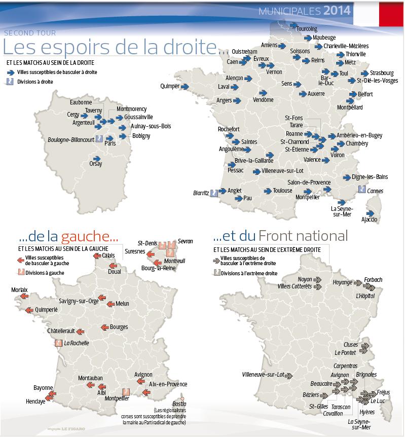 Actualités et ébats poétiques ( Les européennes ça sera le 25 mai 2014) - Page 37 201413_france_municipales_points_chauds_2tour