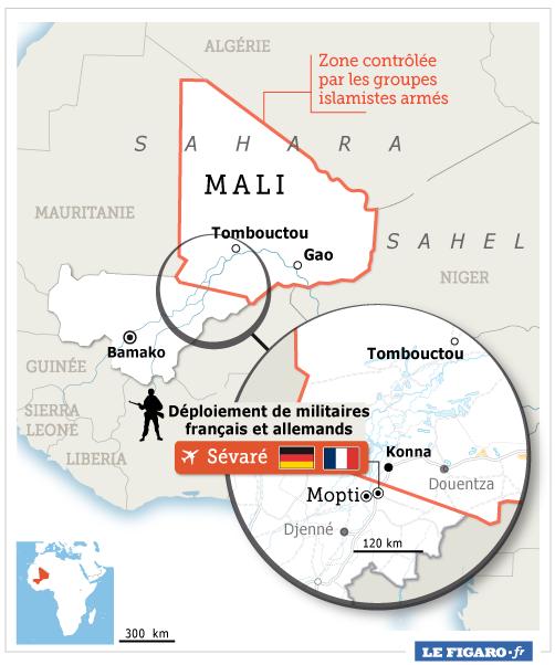 L'intervention militaire française au Mali vise-t-elle à assurer les intérêts d'Areva ? WEB_201302_mali