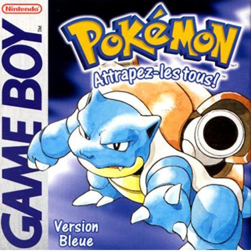 collection de jeux videos: 431 jeux/28 consoles/2 Pcb - Page 2 Pokemon_bleu_europe