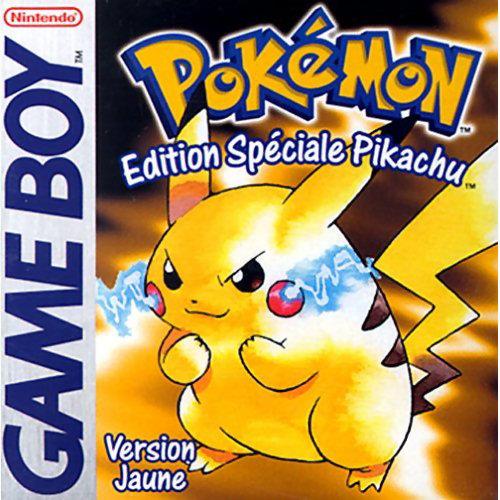 collection de jeux videos: 431 jeux/28 consoles/2 Pcb - Page 2 Pokemon_jaune_europe