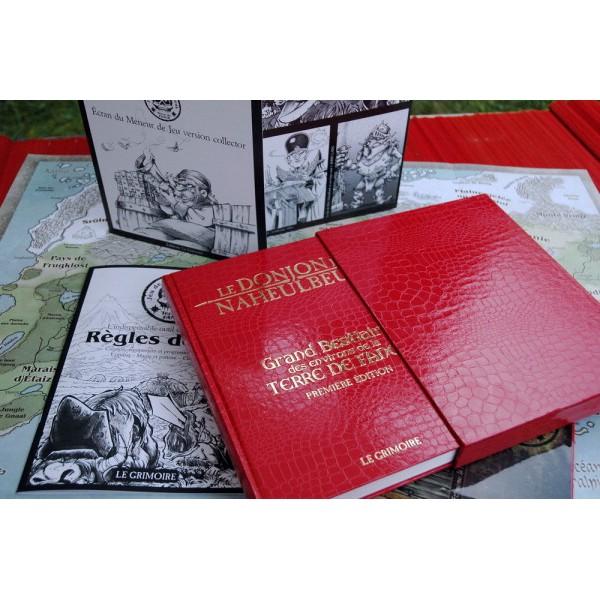 Donjon de Naheulbeuk - La Geste de Gurdil Edition-coffret-bestiaire-des-environs-de-la-terre-de-fangh