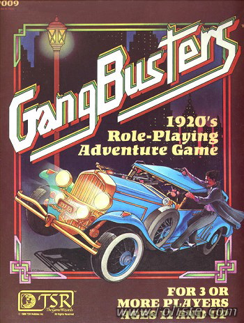 [JDR] GANGBUSTERS 5778