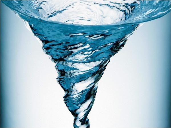 L'eau dynamisée Vortex-eau