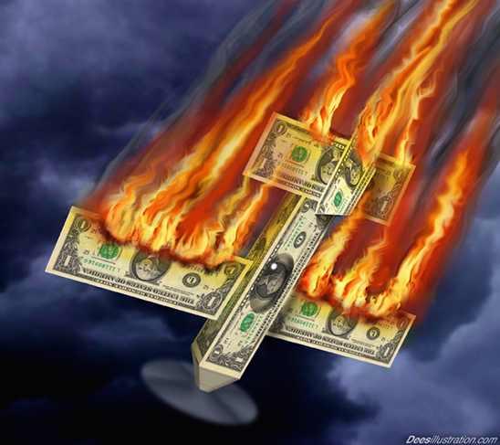 """l'image illustrant le mieux la prétendue """"strong Dollar policy"""" Midas0313A"""