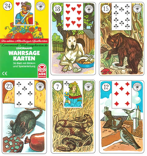 versions - Les différentes versions des  cartes Lenormand Ass_bilder