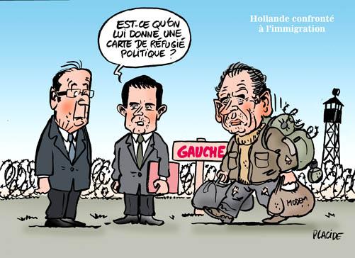 Bayrou succombe au charme de Hollande 12-05-03-hollande-valls-bayrou