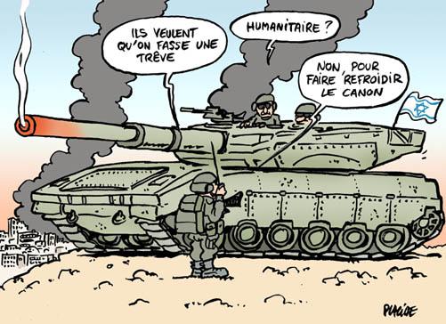 A RIRE OU EN PLEURER OU REVUE DE PRESSE SATIRIQUE - Page 13 14-07-21-tsahal-palestine
