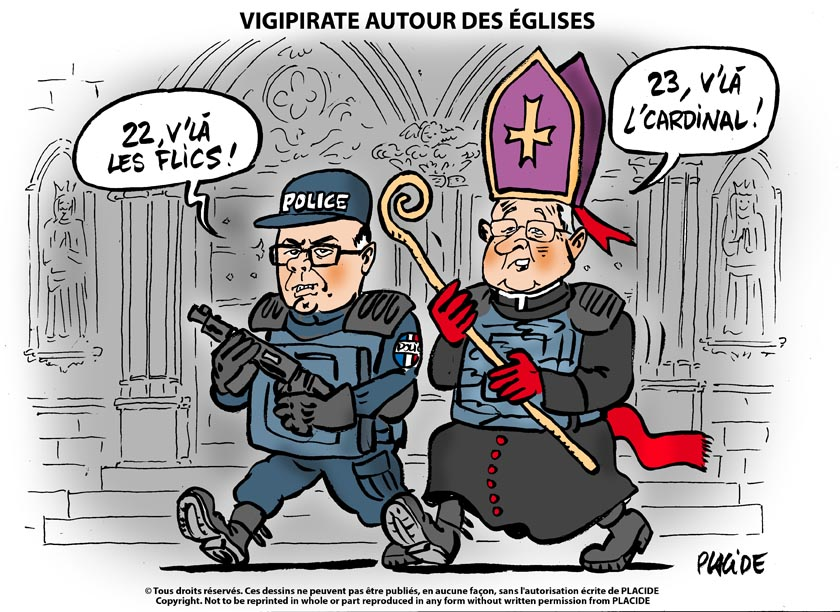 A RIRE OU EN PLEURER OU REVUE DE PRESSE SATIRIQUE - Page 23 15-04-24-cazeneuve-cardinal23